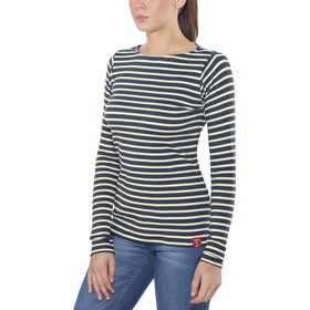 Elkline U-Boot Longsleeve Women blueshadow-white